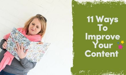 11 Ways To Improve Your Content