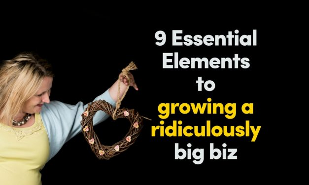 9 Essential Elements To Growing A Ridiculously Big Coaching Business