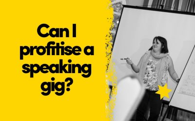 How To Profitise A Speaking Gig