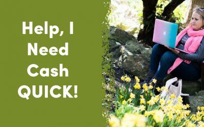 Help, I Need Quick Cash