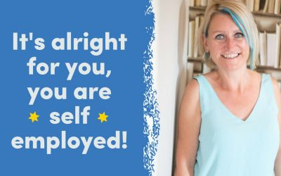 Its alright for you, you are self employed