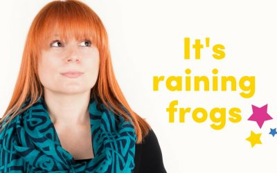 It's Raining Frogs!
