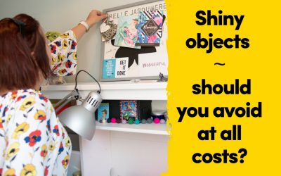 Shiny Objects ~ Avoid At All Costs?