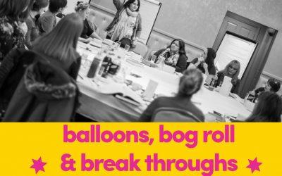 Bog Roll, Balloons & Breakthroughs – An Average Rockstars Conference