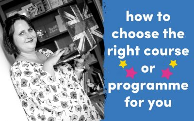 How To Choose The Right Programme Or Course For You