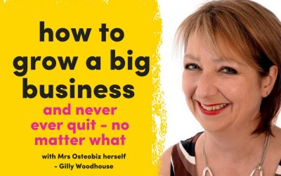 The Queen Of Osteopath Business Development