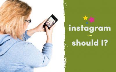Instagram – Should I?