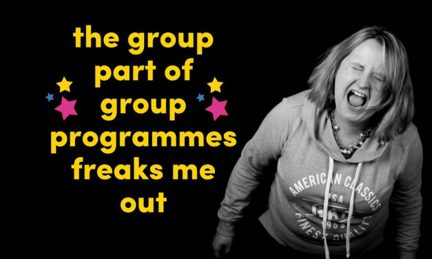 The Group Bit Of Group Programmes Freaks Me Out