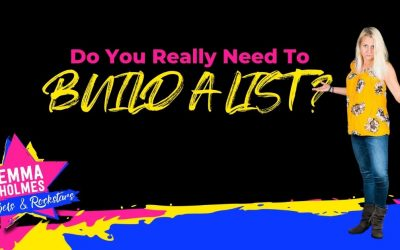 Do You Really Need To Build A List?