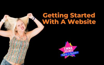 Getting Started With A Website