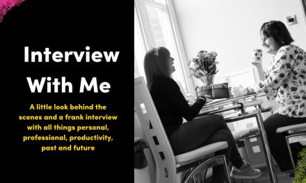 Interview With Emma Holmes (ooohh, that's me!)