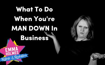 Man Down!   What To Do When You Can't Work On Your Business