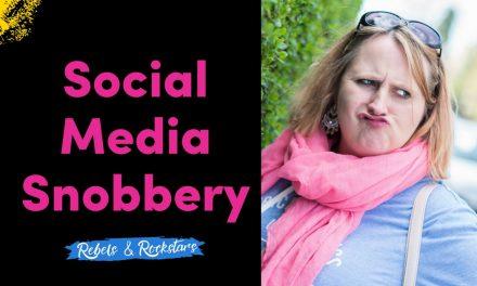 Social Media Snobbery