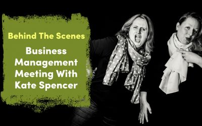 Behind The Scenes – Business Management Meeting With Kate Spencer