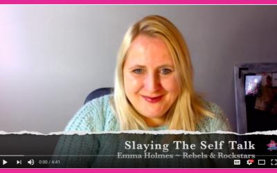 Slaying the Self Talk