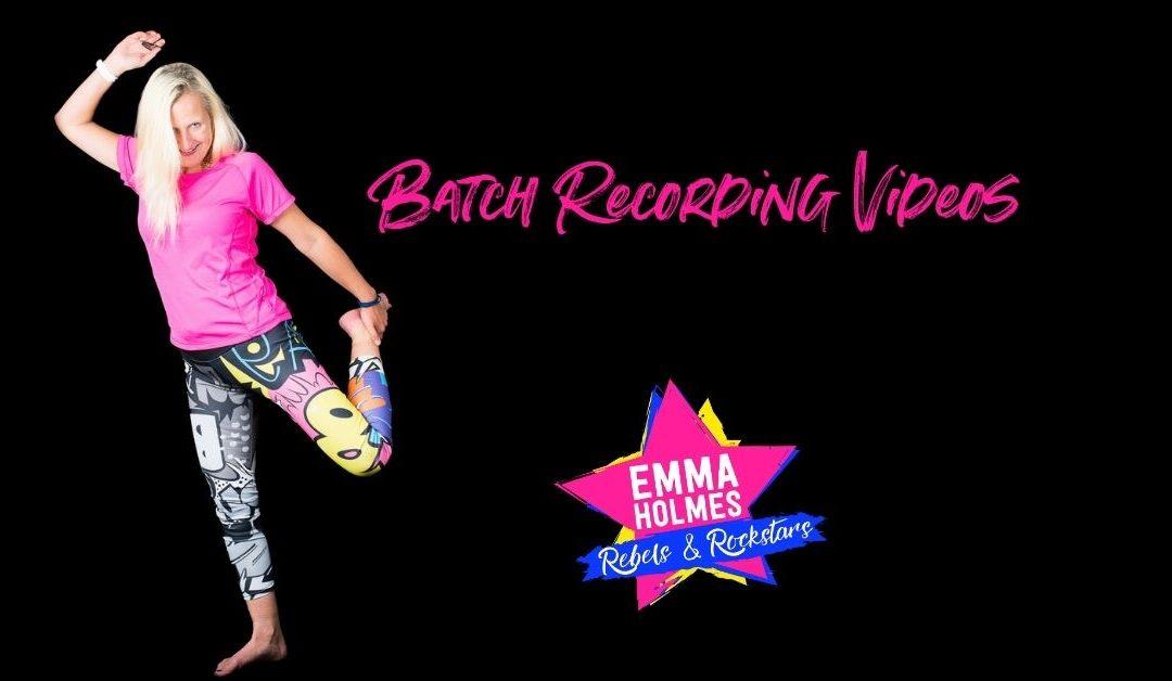 Batch Recording Videos