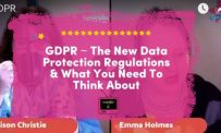 GDPR ~ What You Need To Start To Think About