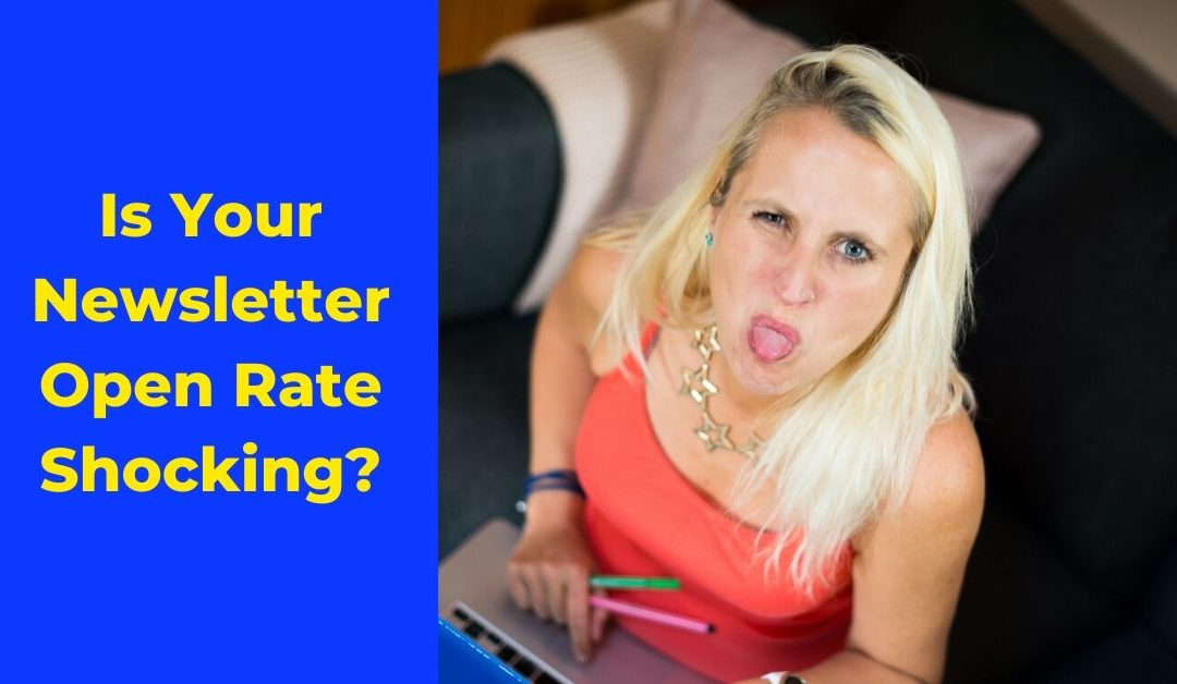 Is Your Newsletter Open Rate Shocking?