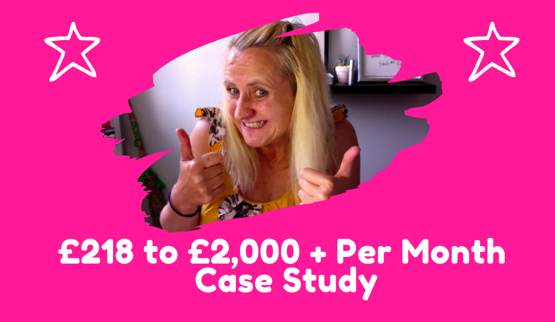 £218 to £2,000 + per month – a case study