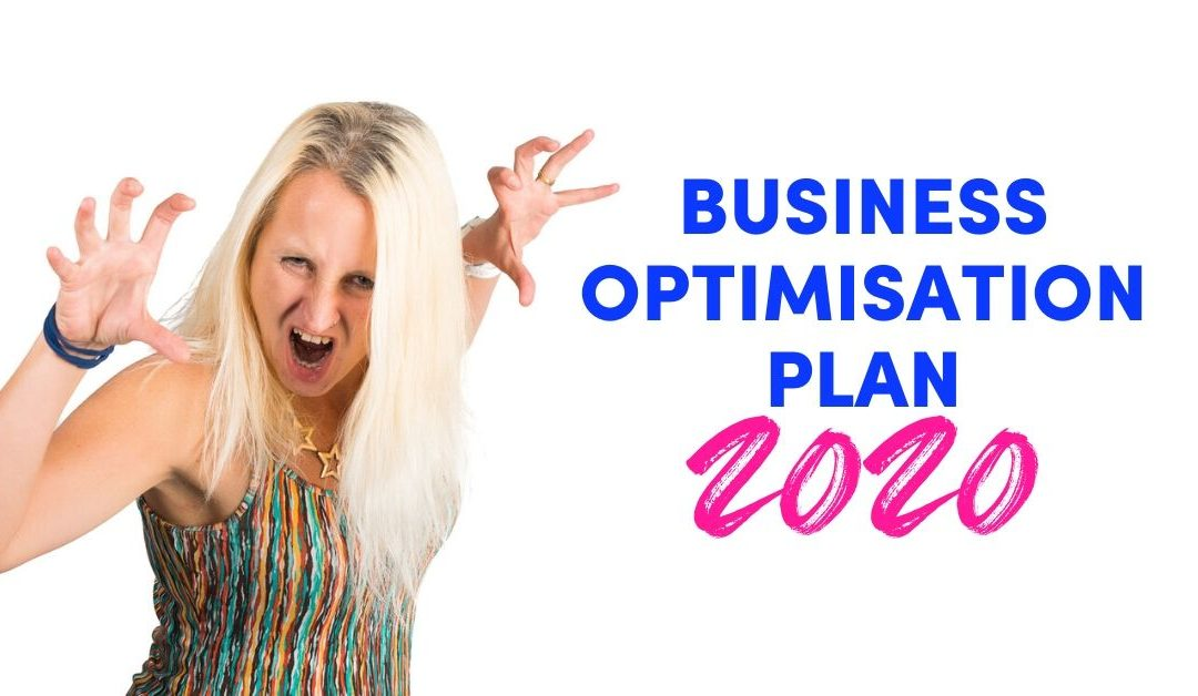 Business Optimisation Plan 2020